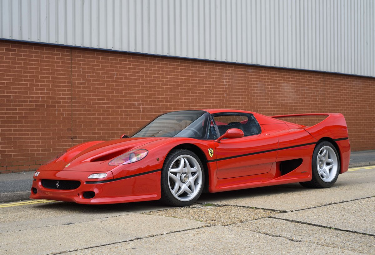 1997 Ferrari F50 (LHD) for sale in London For Sale (picture 1 of 24)