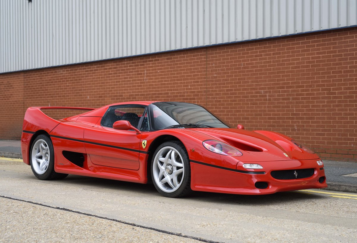 1997 Ferrari F50 (LHD) for sale in London For Sale (picture 2 of 24)