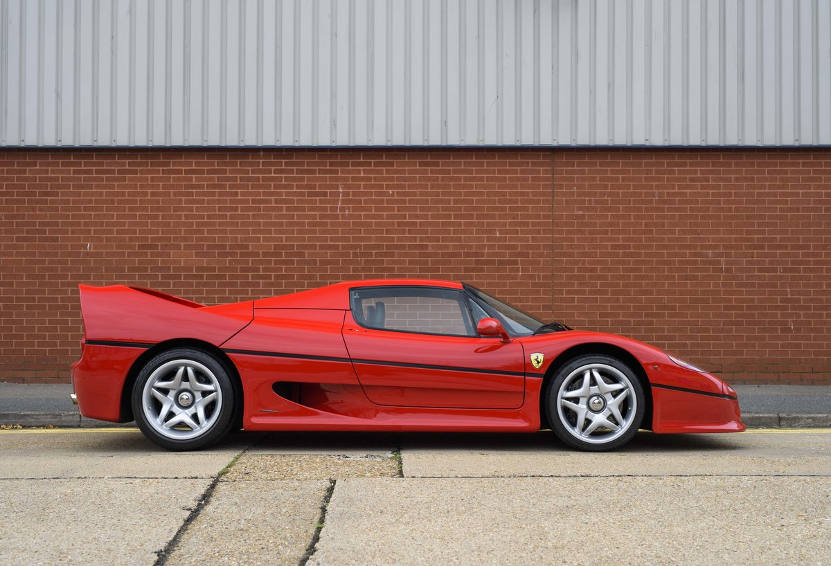 1997 Ferrari F50 (LHD) for sale in London For Sale (picture 5 of 24)