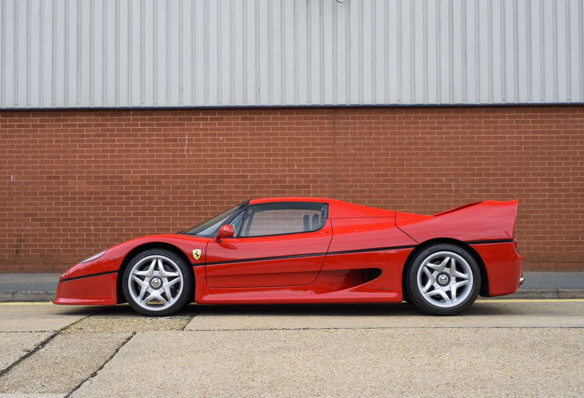 1997 Ferrari F50 (LHD) for sale in London For Sale (picture 6 of 24)