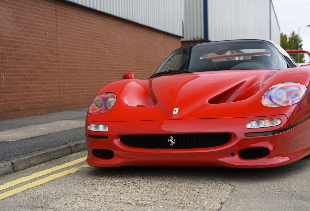 1997 Ferrari F50 (LHD) for sale in London For Sale (picture 9 of 24)