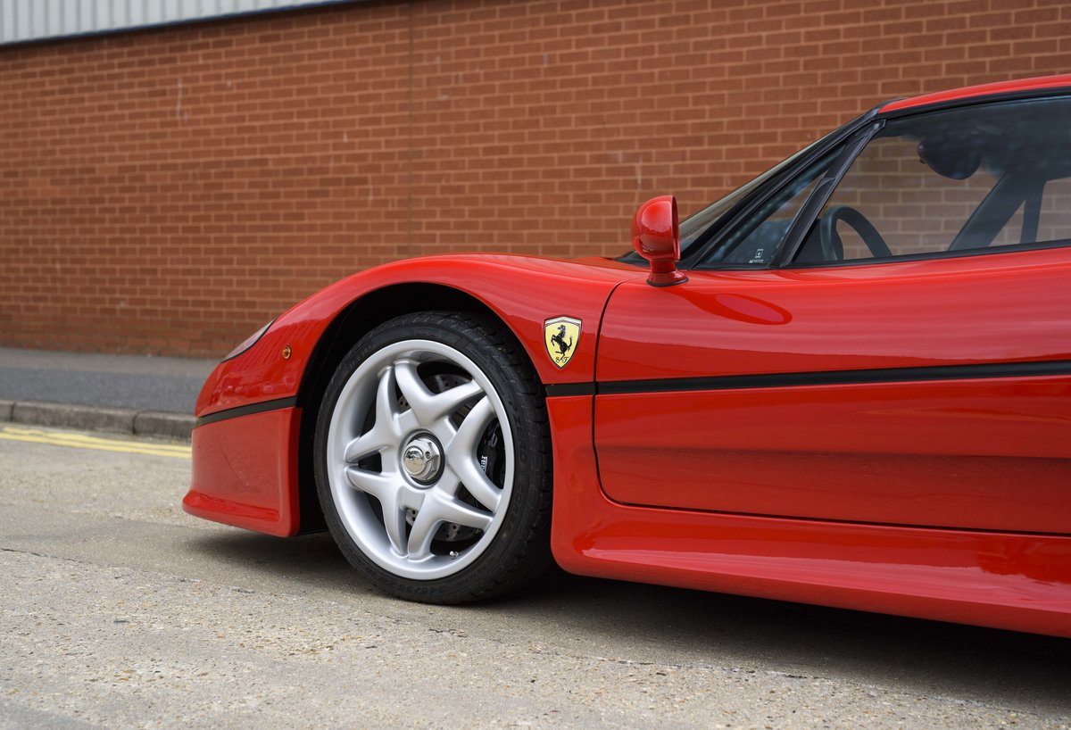 1997 Ferrari F50 (LHD) for sale in London For Sale (picture 10 of 24)
