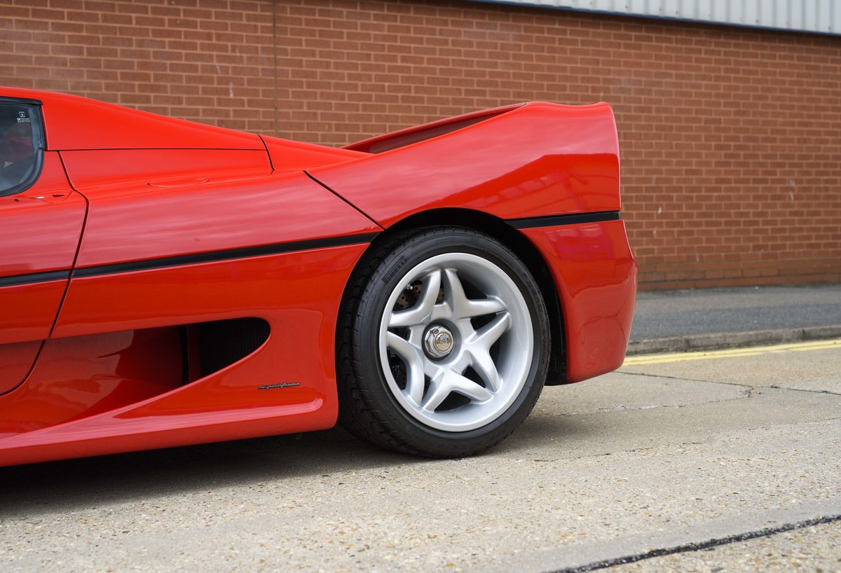 1997 Ferrari F50 (LHD) for sale in London For Sale (picture 11 of 24)