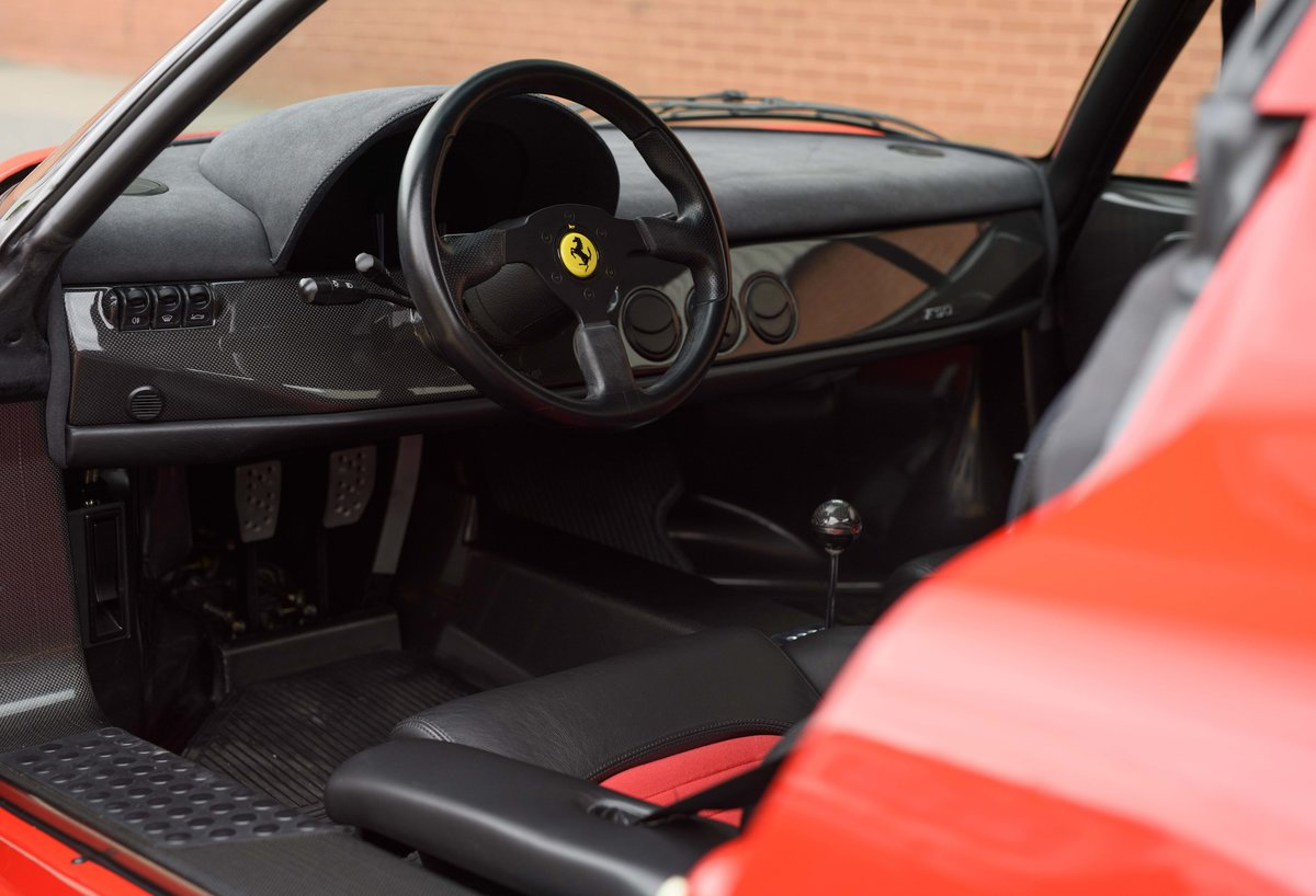 1997 Ferrari F50 (LHD) for sale in London For Sale (picture 14 of 24)