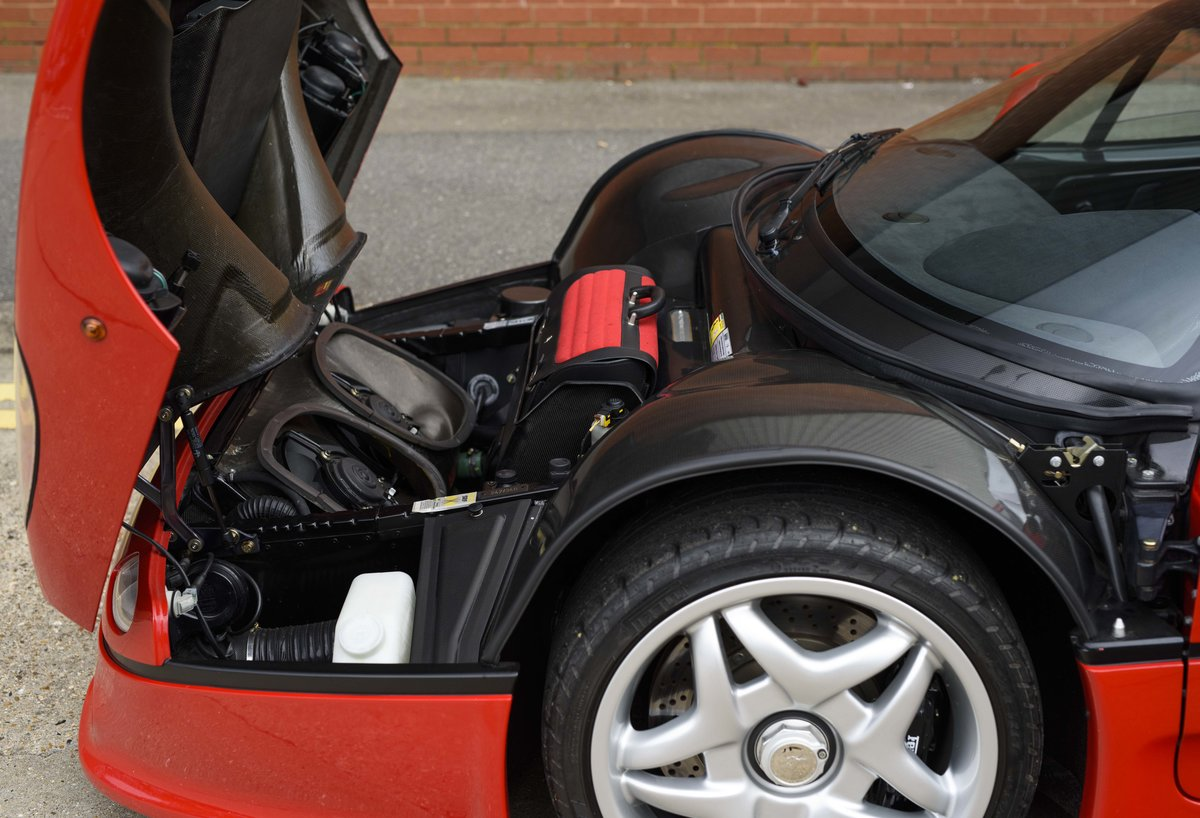 1997 Ferrari F50 (LHD) for sale in London For Sale (picture 22 of 24)