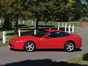 2002 Ferrari 575M Maranello  For Sale by Auction