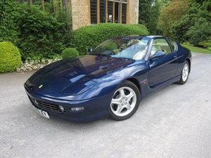 1999 Ferrari 456 M GT six speed manual-One of just eight