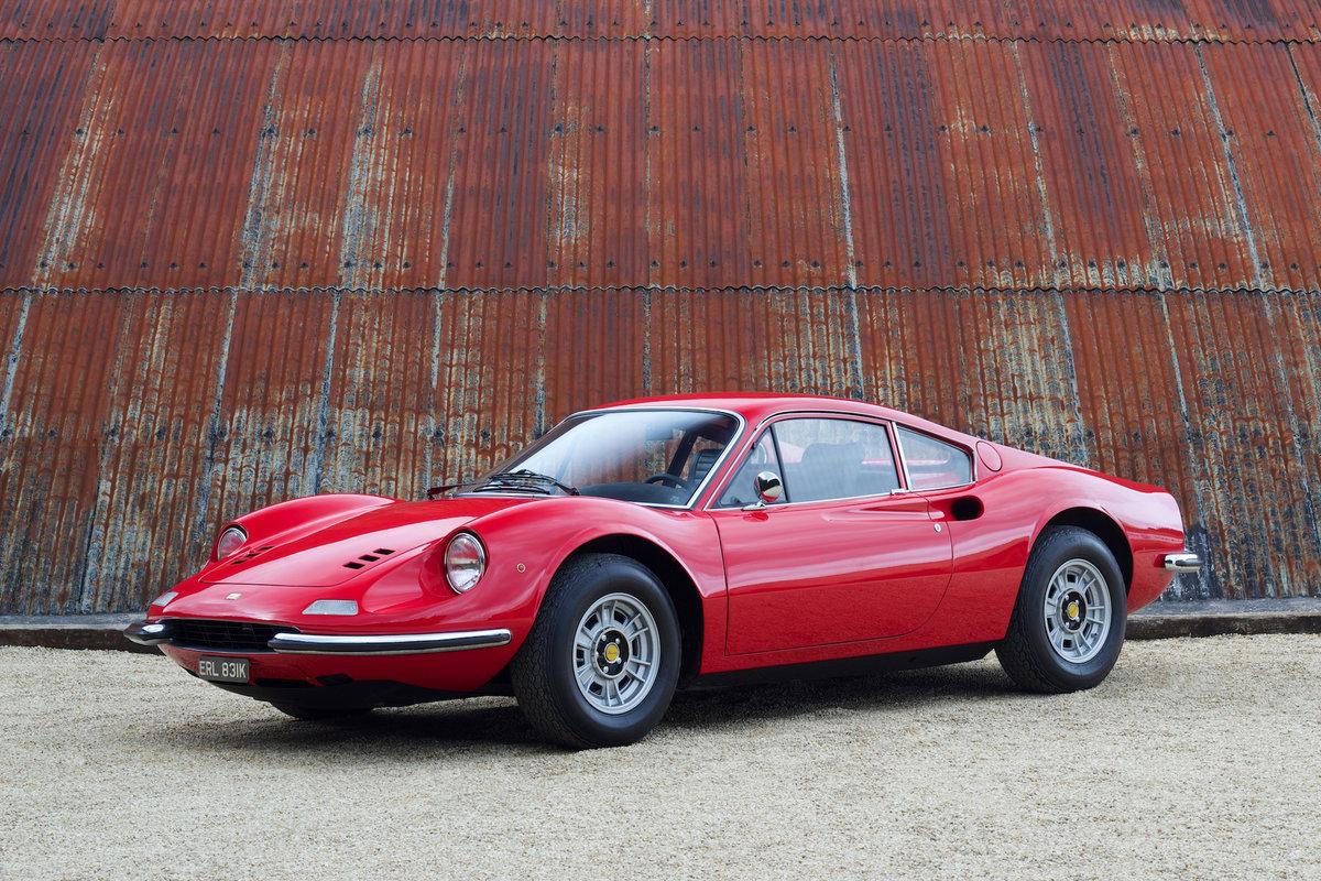1972 Ferrari Dino 246 GT - Classiche Certified & Restored For Sale (picture 1 of 6)
