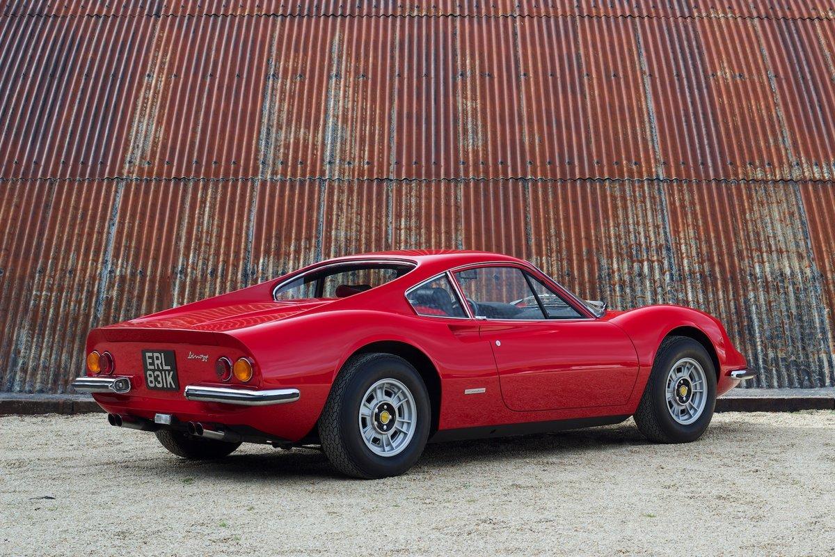 1972 Ferrari Dino 246 GT - Classiche Certified & Restored For Sale (picture 2 of 6)