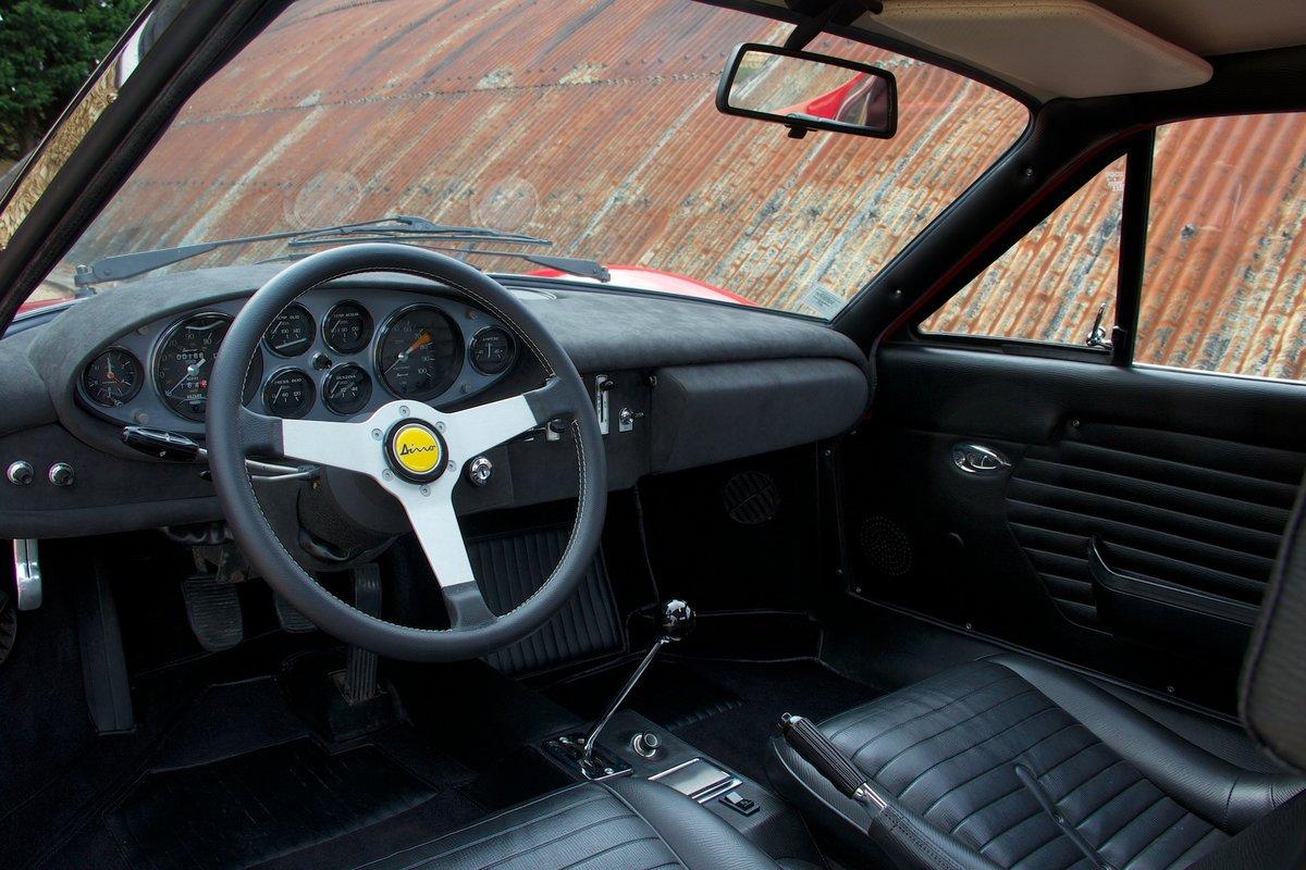 1972 Ferrari Dino 246 GT - Classiche Certified & Restored For Sale (picture 3 of 6)