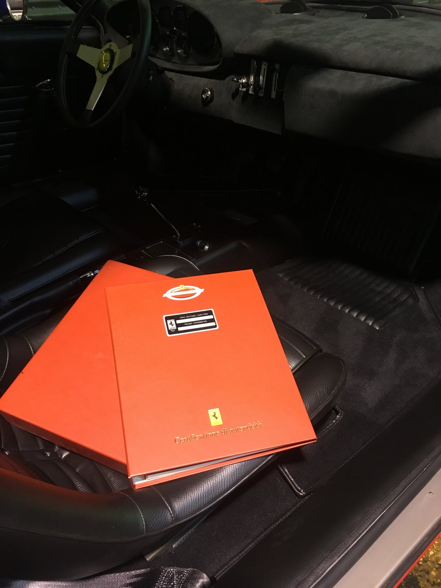 1972 Ferrari Dino 246 GT - Classiche Certified & Restored For Sale (picture 6 of 6)