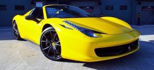 2012 Ferrari 458 4.5 V8 Spider - Giallo Triplo Strato