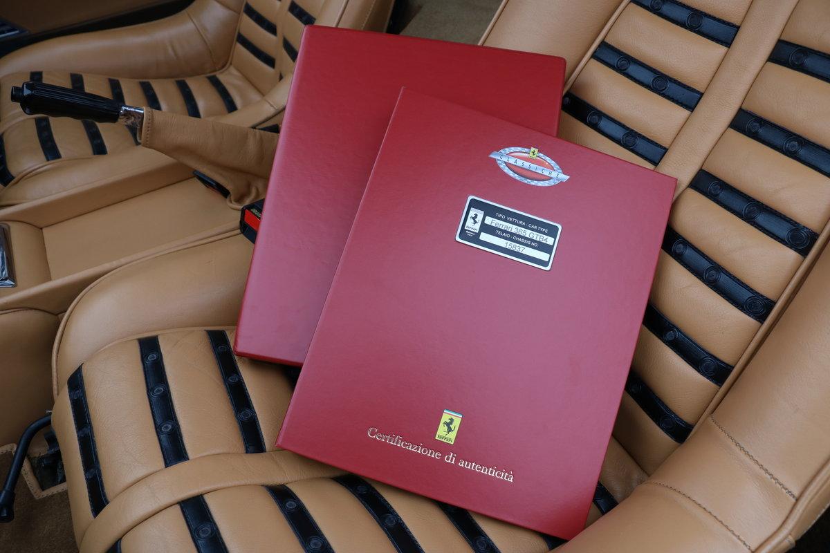 1972 Ferrari 365 GTB/4 'Daytona' - Classiche Certified For Sale (picture 6 of 6)