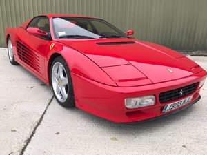 1992 Ferrari Testarossa 512TR with low mileage Stunning