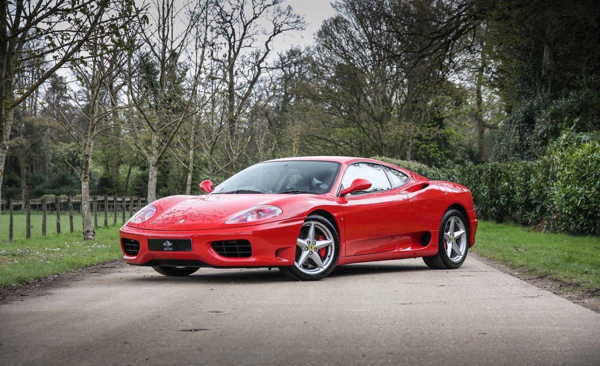1999 Ferrari 360 Modena Manual  For Sale (picture 1 of 14)