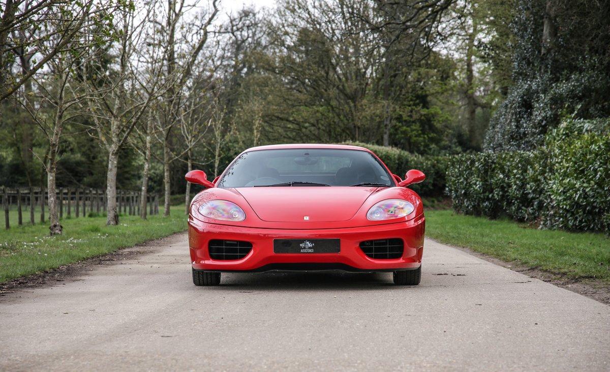 1999 Ferrari 360 Modena Manual  For Sale (picture 3 of 14)