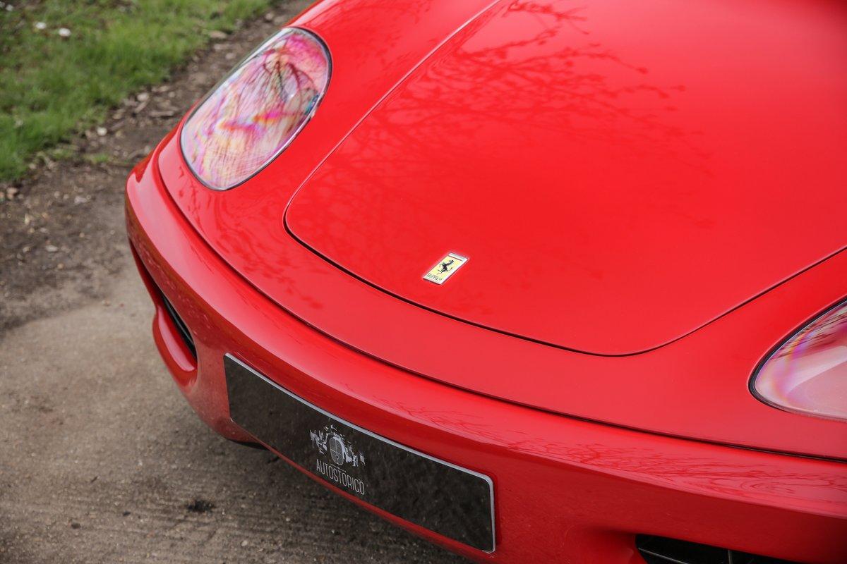 1999 Ferrari 360 Modena Manual  For Sale (picture 10 of 14)