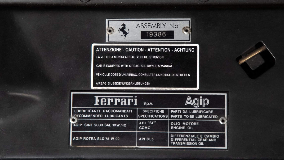 1995 Ferrari 456 GT Manual LHD  For Sale (picture 17 of 20)