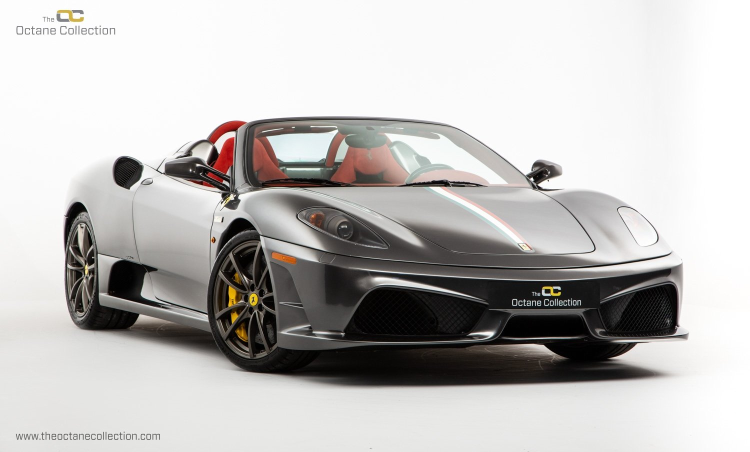 2009 FERRARI 16M SCUDERIA // GRIGIO SILVERSTONE // CARBON FIBRE P For Sale (picture 1 of 20)