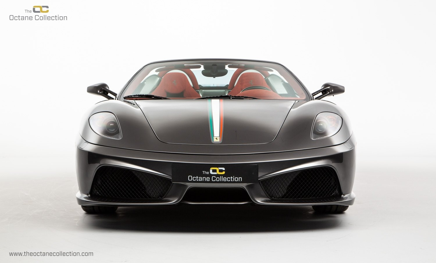 2009 FERRARI 16M SCUDERIA // GRIGIO SILVERSTONE // CARBON FIBRE P For Sale (picture 2 of 20)