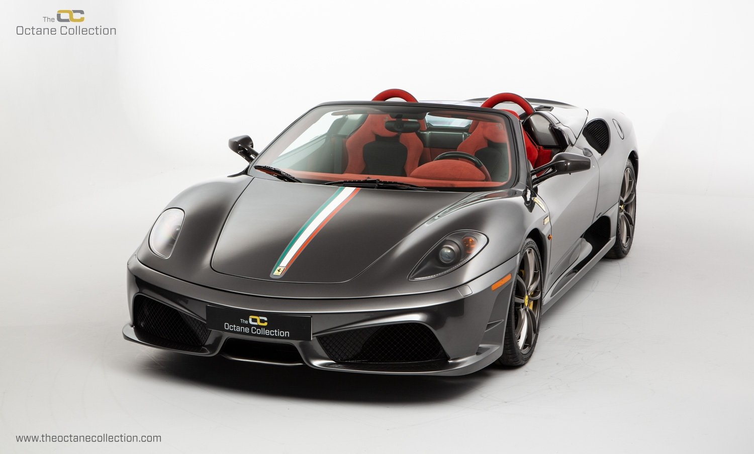 2009 FERRARI 16M SCUDERIA // GRIGIO SILVERSTONE // CARBON FIBRE P For Sale (picture 3 of 20)