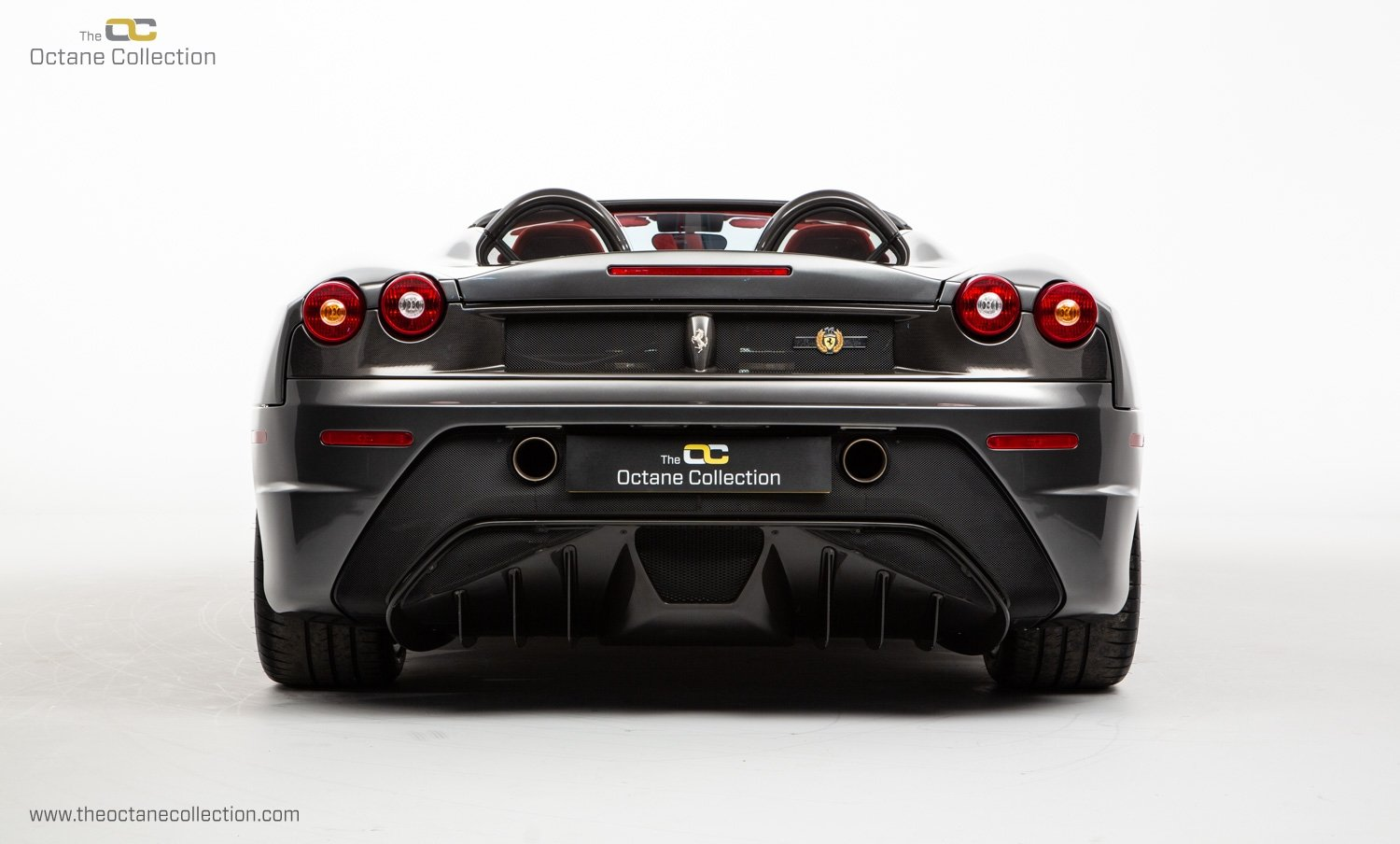 2009 FERRARI 16M SCUDERIA // GRIGIO SILVERSTONE // CARBON FIBRE P For Sale (picture 4 of 20)