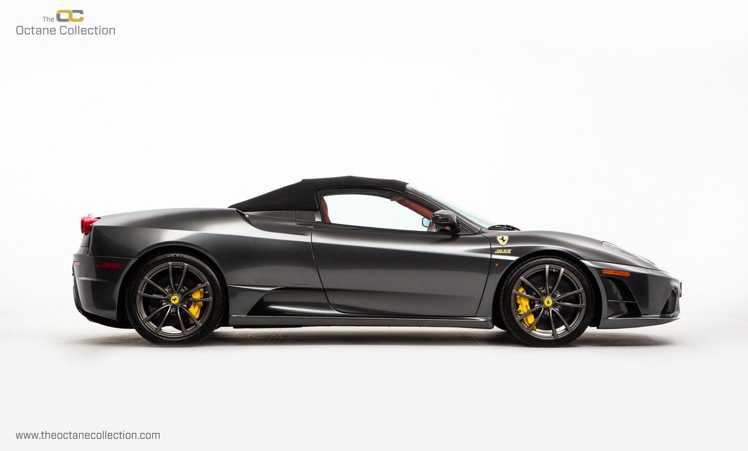 2009 FERRARI 16M SCUDERIA // GRIGIO SILVERSTONE // CARBON FIBRE P For Sale (picture 6 of 20)