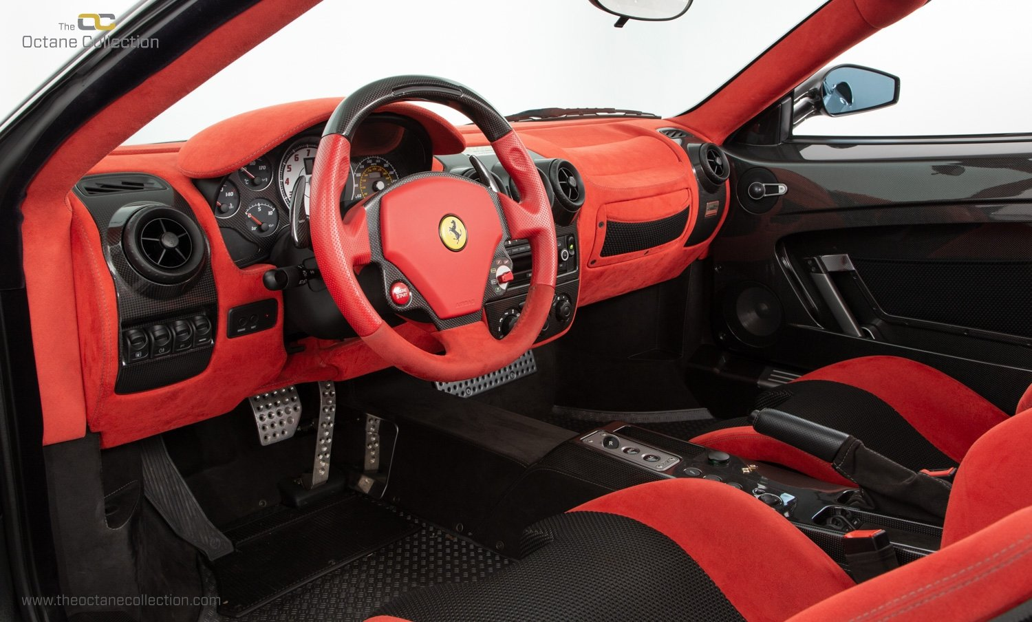 2009 FERRARI 16M SCUDERIA // GRIGIO SILVERSTONE // CARBON FIBRE P For Sale (picture 9 of 20)