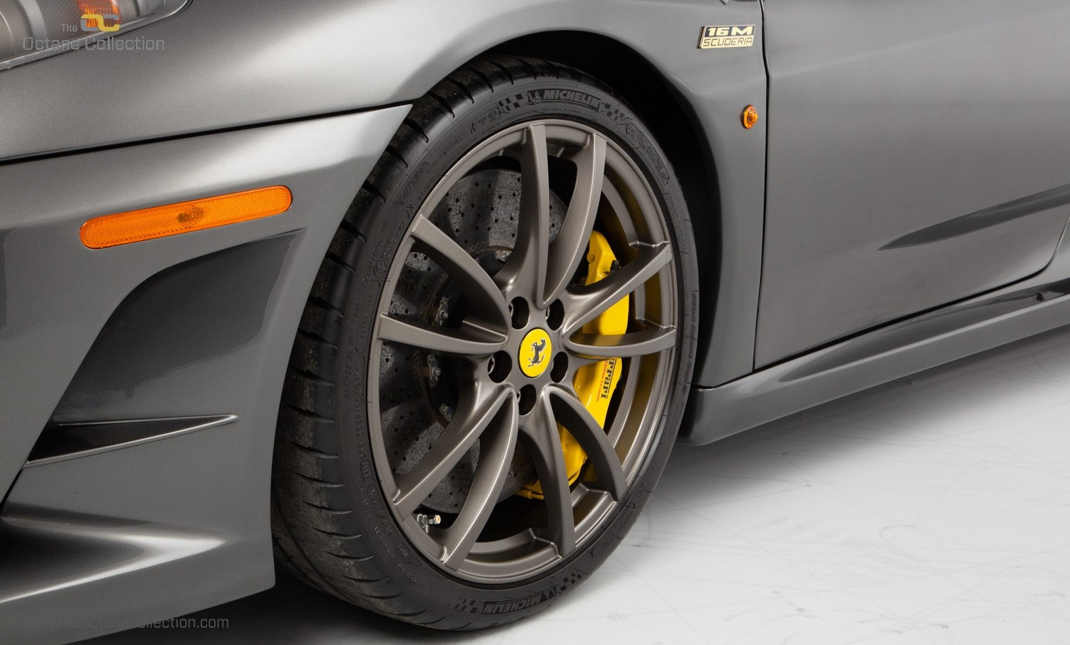 2009 FERRARI 16M SCUDERIA // GRIGIO SILVERSTONE // CARBON FIBRE P For Sale (picture 17 of 20)