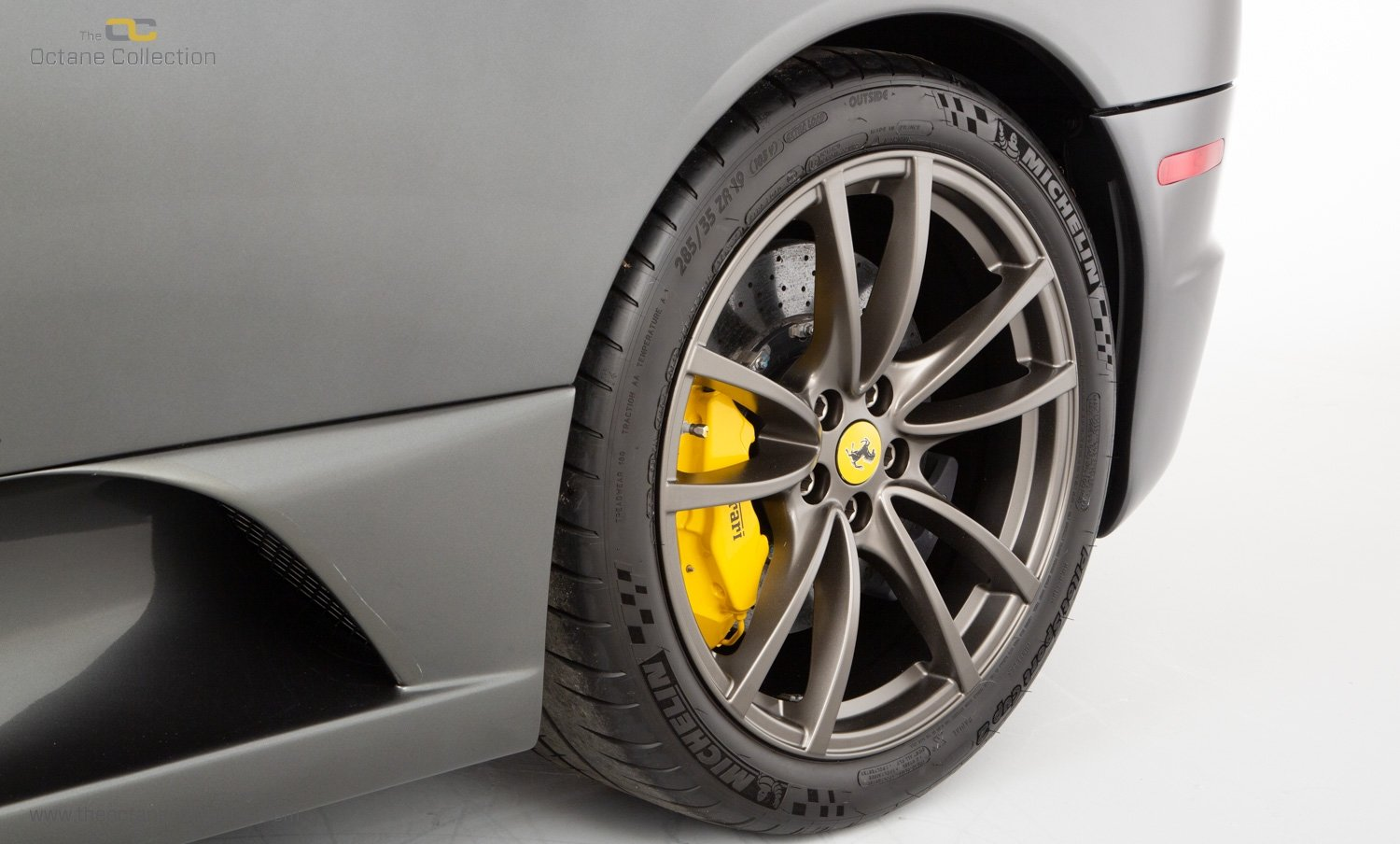 2009 FERRARI 16M SCUDERIA // GRIGIO SILVERSTONE // CARBON FIBRE P For Sale (picture 18 of 20)