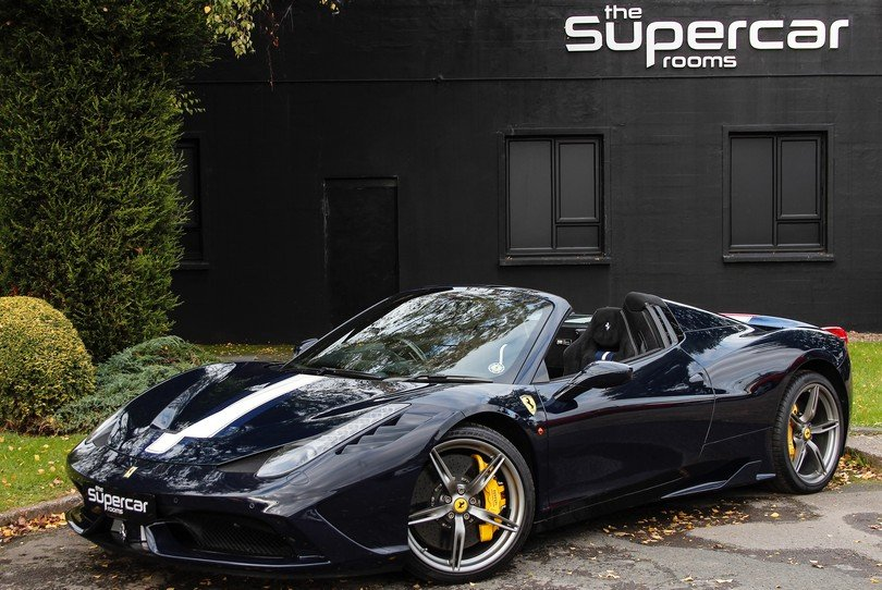 2015 Ferrari 458 Speciale Aperta - 1 Owner - UK Supplied RHD For Sale (picture 1 of 6)
