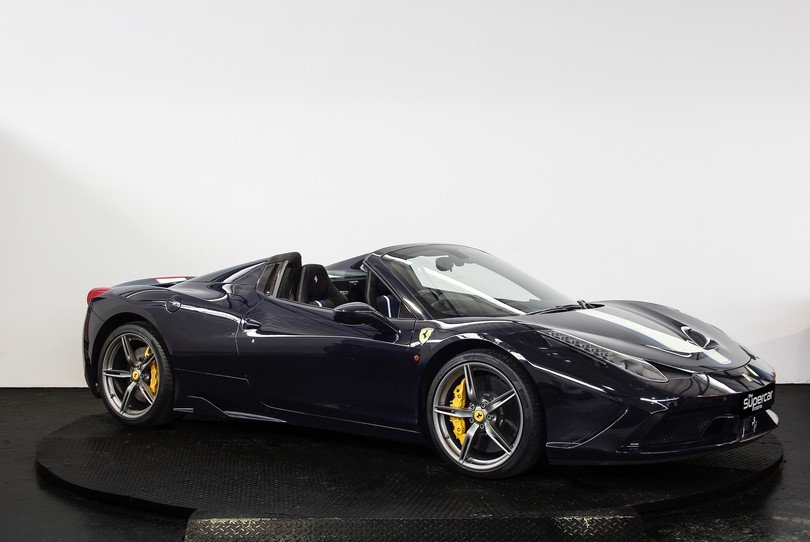 2015 Ferrari 458 Speciale Aperta - 1 Owner - UK Supplied RHD For Sale (picture 2 of 6)