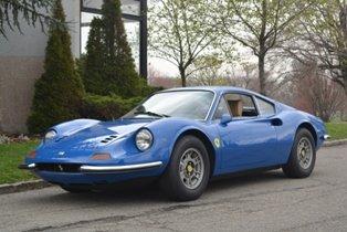 1971 Ferrari 246 GT Dino #20156 For Sale (picture 1 of 5)