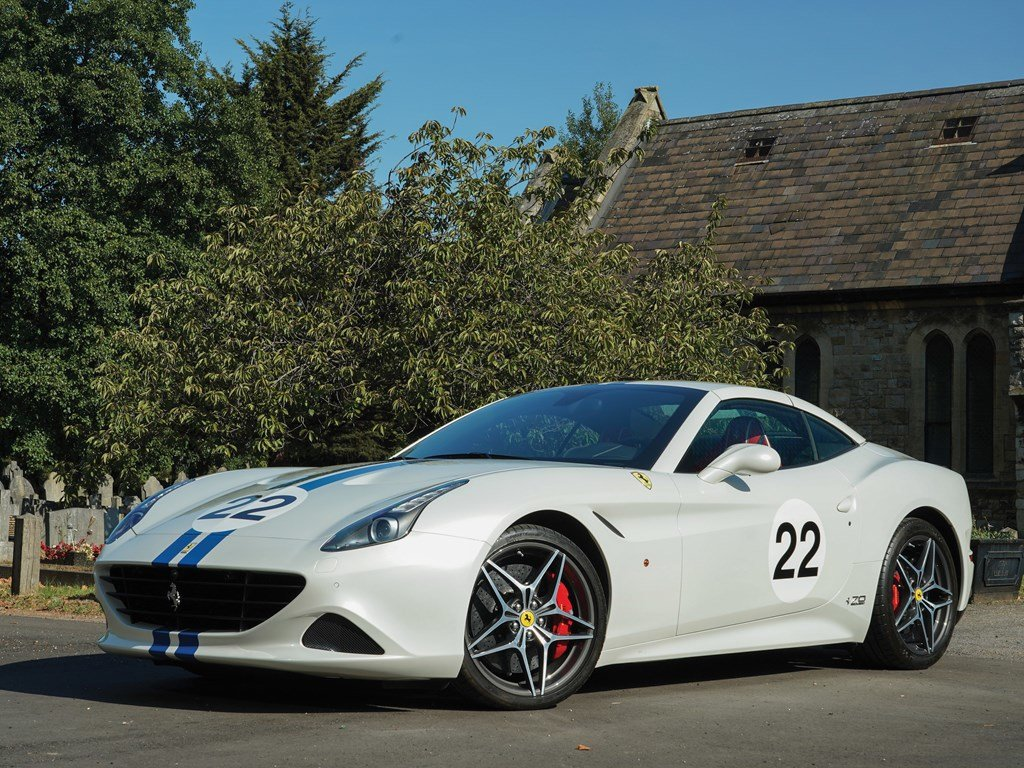 2018 Ferrari California T 70th Anniversary  For Sale by Auction (picture 1 of 6)