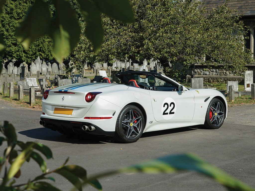 2018 Ferrari California T 70th Anniversary  For Sale by Auction (picture 2 of 6)