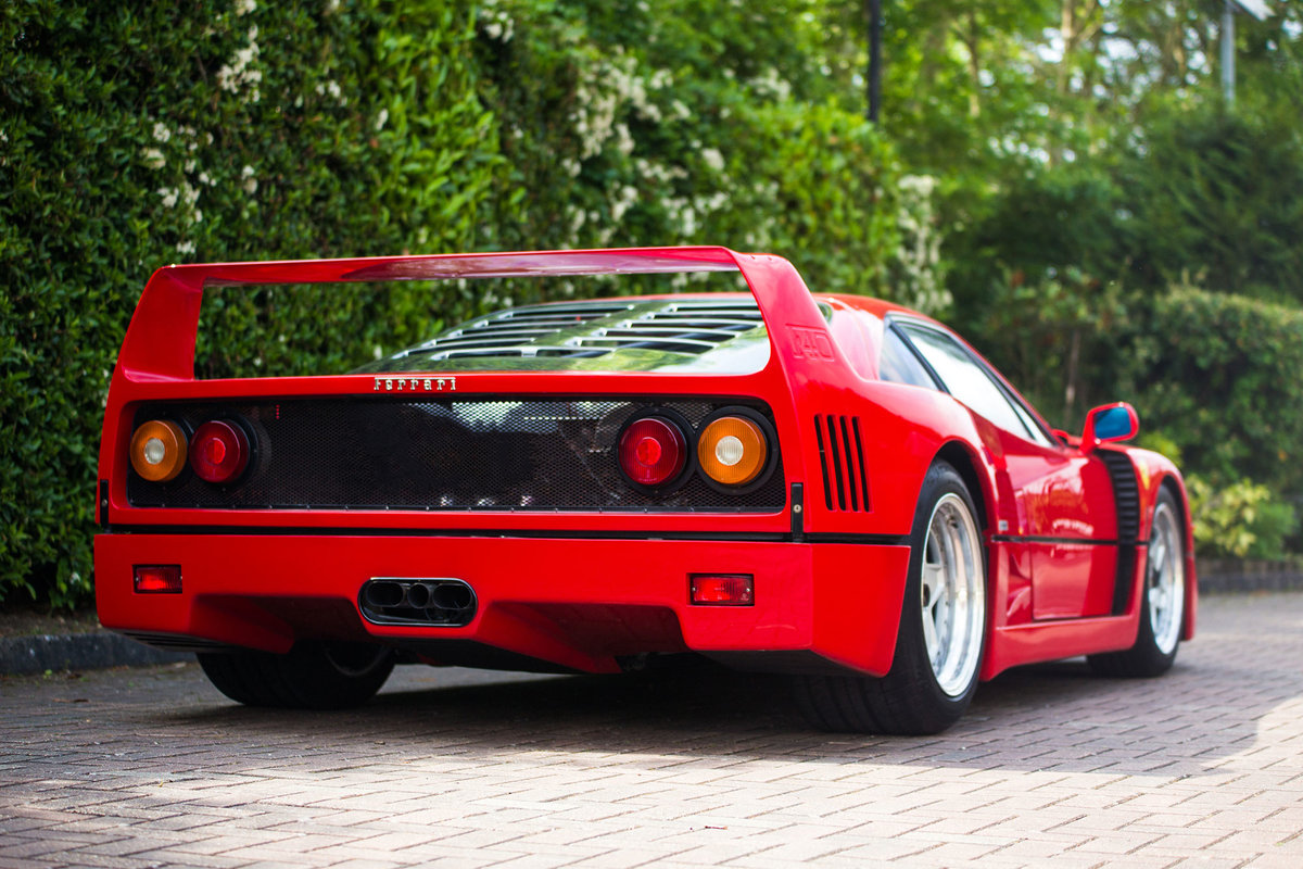 1988 Ferrari F40 For Sale (picture 4 of 6)