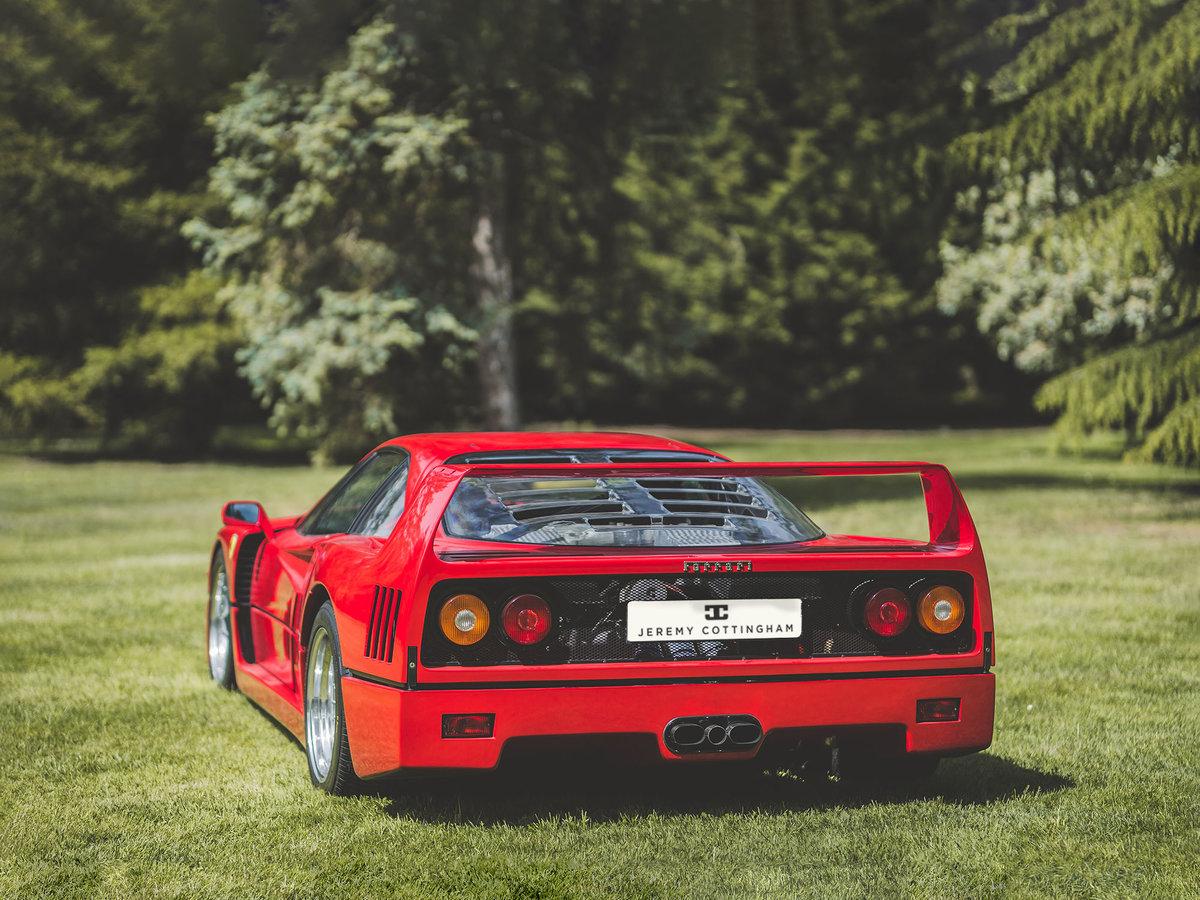 1989 Ferrari F40 For Sale (picture 4 of 6)
