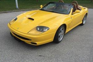 2001 Ferrari F550 Barchetta For Sale