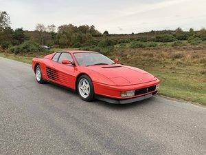 Ferrari Testarossa 1991 UK Supplied Car Immaculate For Sale