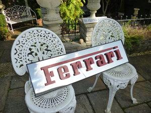 Ferrari Sign For Sale
