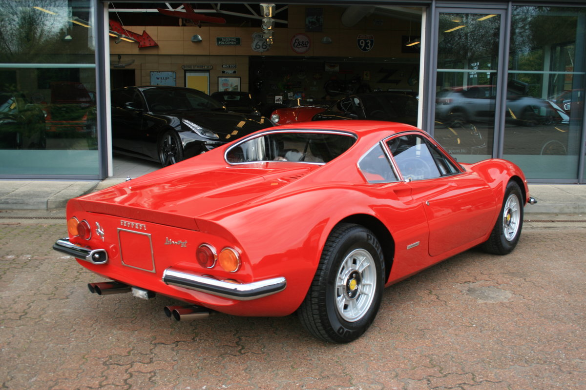 1972 Ferrari Dino 246GT - 2 owner - Classiche certified - 30,466  For Sale (picture 2 of 6)