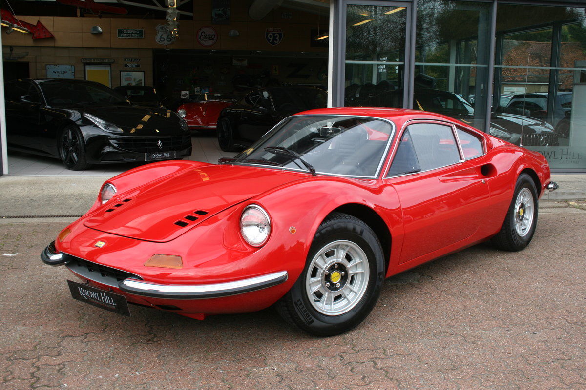 1972 Ferrari Dino 246GT - 2 owner - Classiche certified - 30,466  For Sale (picture 3 of 6)