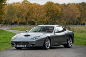 2004 Ferrari 575M Manual with Fiorano Pack. UK RHD
