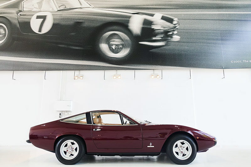 1972 stunning restored 365 GTC/4, books, tools, superb For Sale (picture 3 of 6)