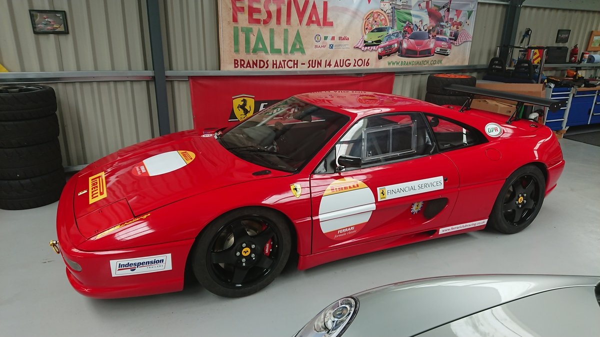 1995 Ferrari F355 GTB Road legal race car to challenge spec For Sale (picture 1 of 5)