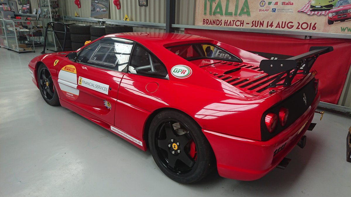 1995 Ferrari F355 GTB Road legal race car to challenge spec For Sale (picture 2 of 5)