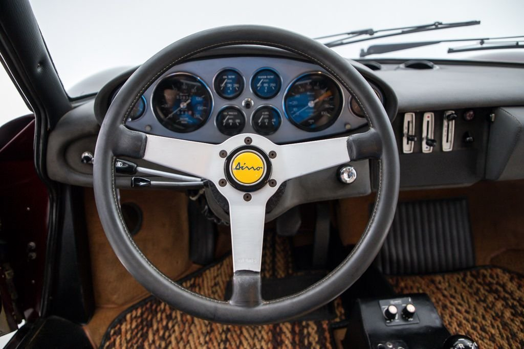 1972 Ferrari 246 GTS Spider Dino low miles Driver Manual $289k For Sale (picture 4 of 6)