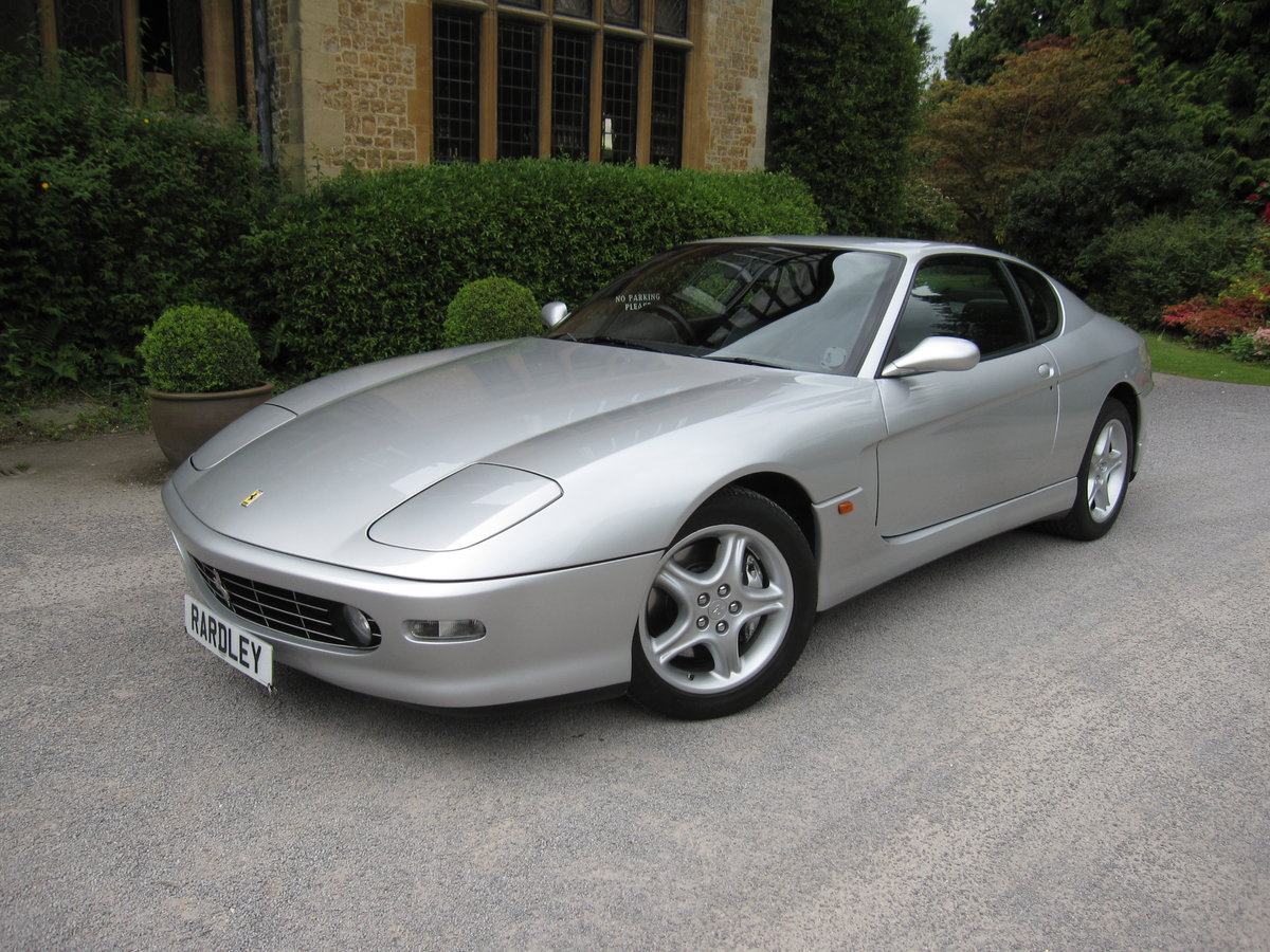 2001 Ferrari 456 M GT 6-speed manual.One of nine For Sale (picture 1 of 6)