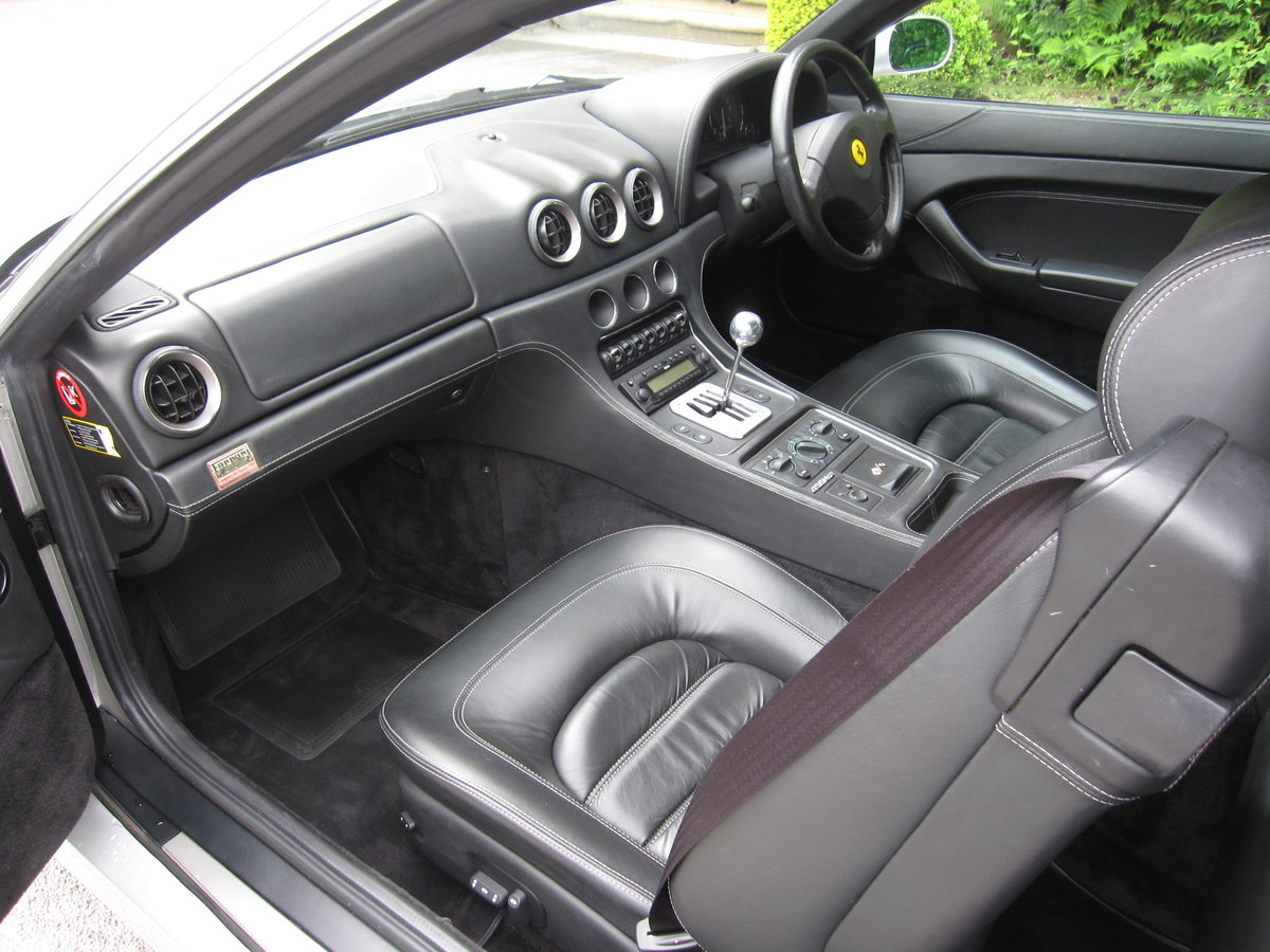 2001 Ferrari 456 M GT 6-speed manual.One of nine For Sale (picture 4 of 6)