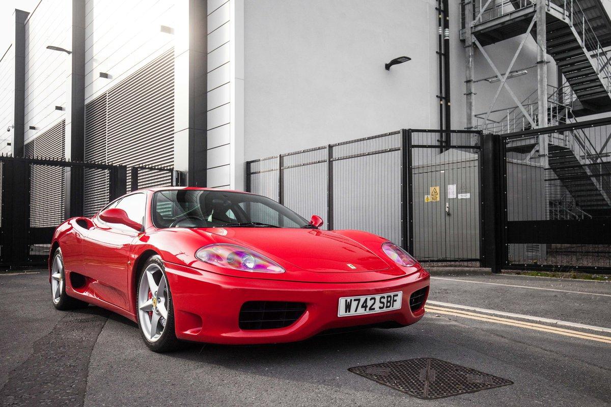2000 Ferrari 360 Modena F1 For Sale (picture 1 of 6)